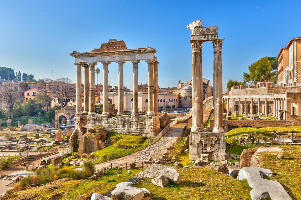 טיסות זולות לרומא,מה לעשות ברומא,קולוסאום,פורום רומאנום & גבעת הפאלאטיום
