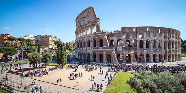 טיסות זולות לרומא,קולוסיאום